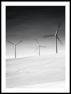 Buy this art print titled Wind Power by the artist Wojciech Łączkowski
