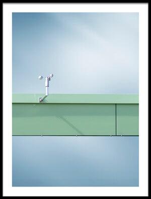 Art print titled Windless by the artist Bastian Kienitz