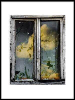 Buy this art print titled Window by the artist Ömer Ateş Kızıltuğ