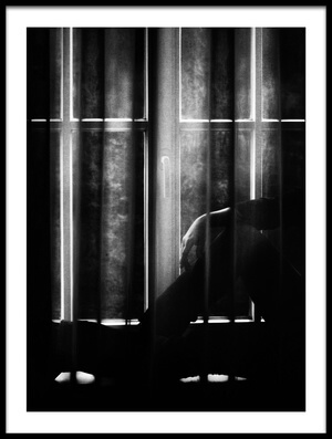 Buy this art print titled Window Blues by the artist Samanta Krivec