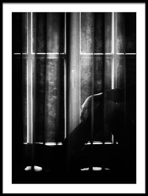 Art print titled Window Blues by the artist Samanta Krivec
