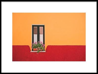 Art print titled Window Flower by the artist Rolf Endermann