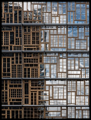 Buy this art print titled Window Mosaic by the artist Greetje van Son