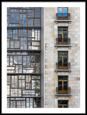 Buy this art print titled Window Mosaic II by the artist Greetje van Son