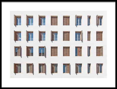 Buy this art print titled Windows by the artist Igor Bakotic