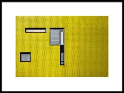 Art print titled Windows by the artist Rolf Endermann
