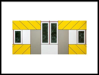 Art print titled Windows by the artist Lus Joosten