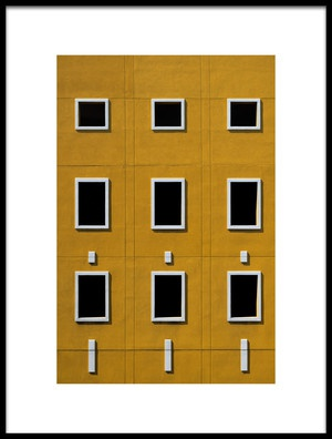 Art print titled Windows by the artist Rolf Endermann