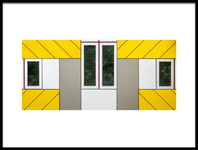 Buy this art print titled Windows by the artist Lus Joosten