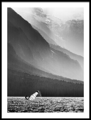 Buy this art print titled Windsurfer by the artist Kristjan Rems