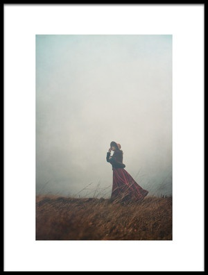 Art print titled Windy Hill by the artist Magdalena Russocka