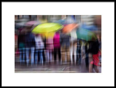 Buy this art print titled Windy, Rainy Day by the artist Ildiko Kardos