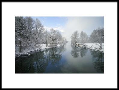 Art print titled Winter by the artist Norbert Maier