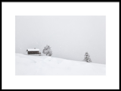 Art print titled Winter Dreams by the artist Uschi Hermann