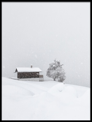 Buy this art print titled Winter Dreams II by the artist Uschi Hermann