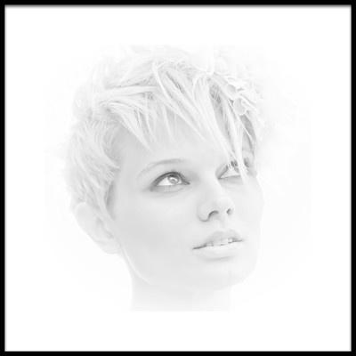 Buy this art print titled Winter Girl by the artist Krzysiek Kulesza