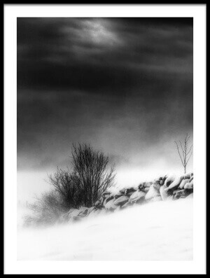 Art print titled Winter Inferno by the artist Helge Andersen