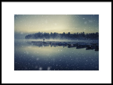 Art print titled Winter Is Coming by the artist Mika Suutari