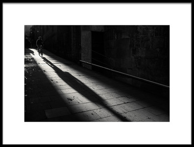 Buy this art print titled Winter Morning In Old Town by the artist Ignasi Raventos