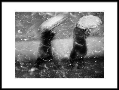 Art print titled Winter Passengers by the artist nicoleta gabor