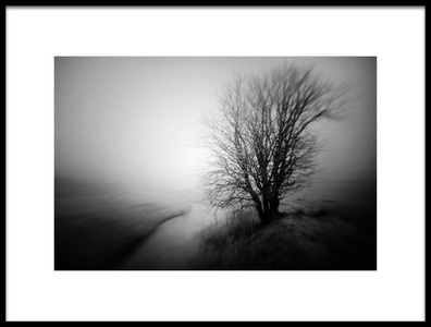 Art print titled Winter Silence by the artist Marianne Siff Kusk