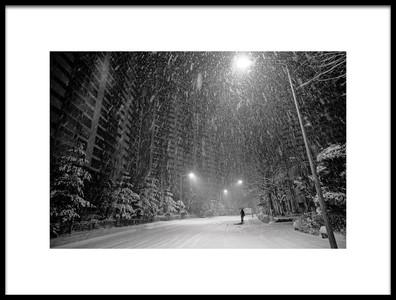 Art print titled Winter Time by the artist Heung-mu Her