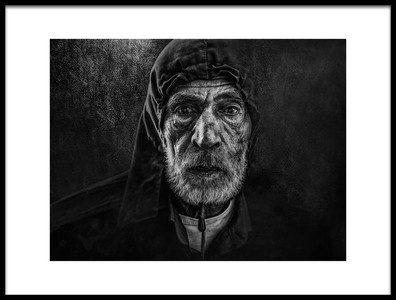 Art print titled Wintry by the artist Husain ALSaeed