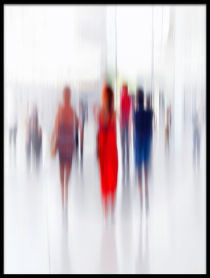 Buy this art print titled Women In Red by the artist Anette Ohlendorf