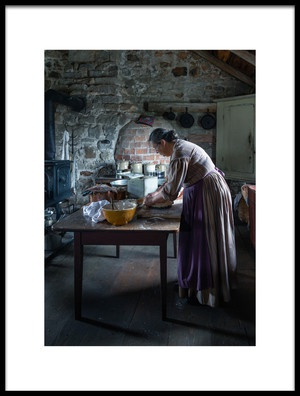 Buy this art print titled Working In the Kitchen by the artist Miroslaw
