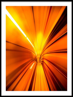 Art print titled Wormhole by the artist Alfred Myers