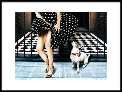 Art print titled Wow by the artist Klaus Tutsch