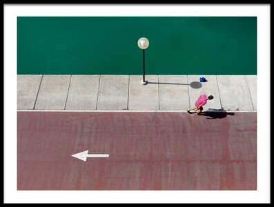 Art print titled Wrong Way by the artist paolo luxardo