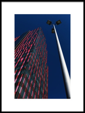 Art print titled WTC Almere by the artist Eric Mattheyses