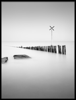 Art print titled X Stands For by the artist Christophe Staelens