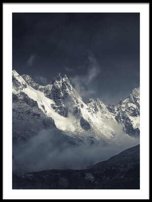 Buy this art print titled Xiaozha Kamiyama 《肖扎神山》 by the artist qiye赣州柒爺