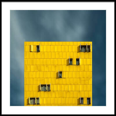 Buy this art print titled Yellow and Blue by the artist vladi garcia