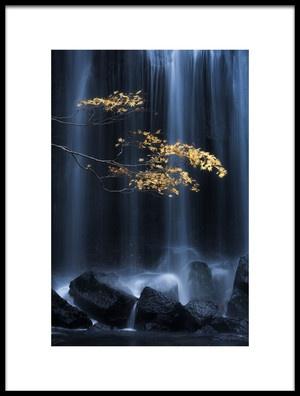 Buy this art print titled Yellow Autumn by the artist Yuki Yatsushima