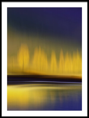 Buy this art print titled Yellow Night by the artist Heidi Westum