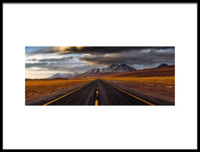 Buy this art print titled Yellow Road by the artist Adhemar Duro