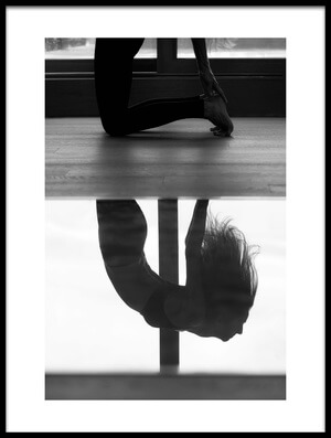 Buy this art print titled Yoga Time by the artist Martina Dimunová
