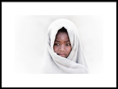 Art print titled Young Devotee by the artist Trevor Cole