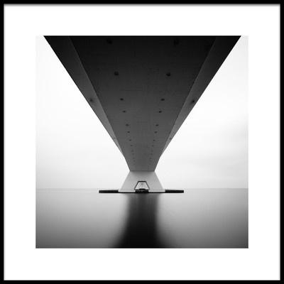 Buy this art print titled Zeeland Bridge by the artist Steve Cheetham