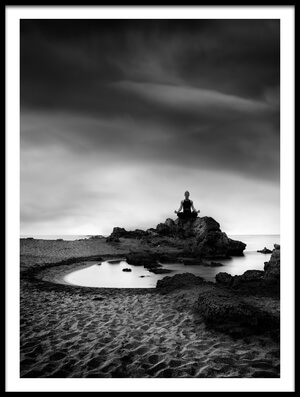 Buy this art print titled Zen 15 by the artist George Digalakis