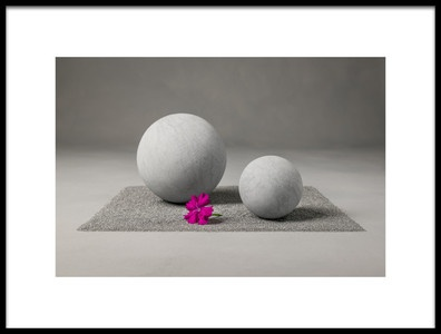 Art print titled Zen Garden by the artist Christophe Verot